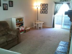 living room/ play room
