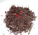 Chocolate Brown Coarse Mulch