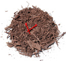 Dark Brown Coarse Mulch